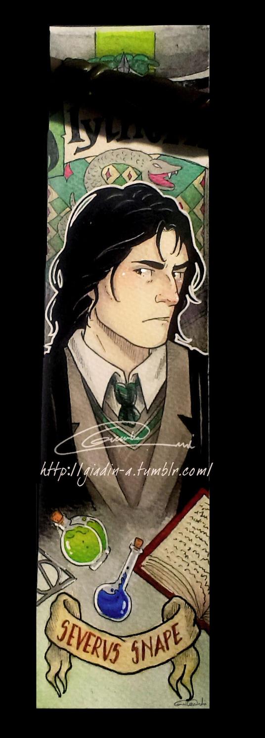 Severus Snape Bookmark by giadina96
