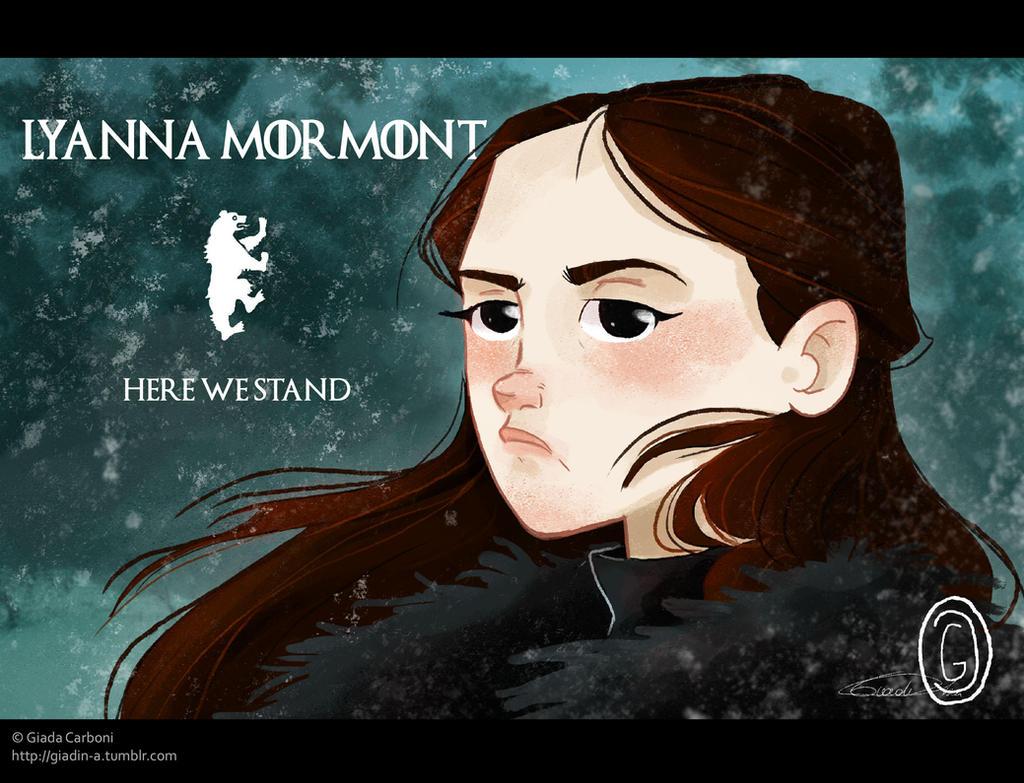 GoT - Lyanna Mormont by giadina96
