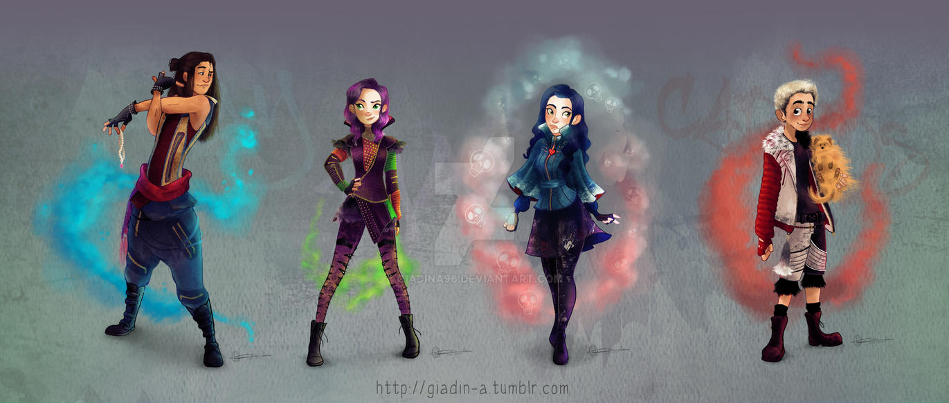 Descendans - All the dudes by giadina96