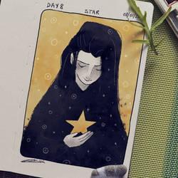 Inktober - Star by giadina96