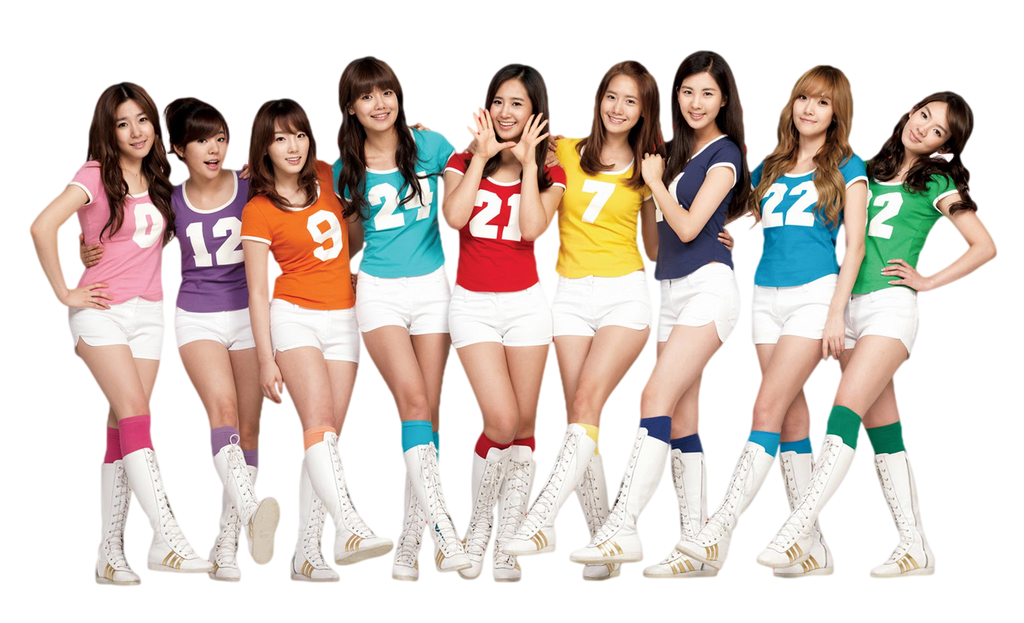 Render 5 - Girls Generation (SNSD) by Starphine