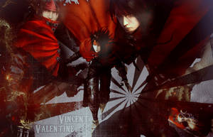 Vincent Valentine by Axela-The-Nobody