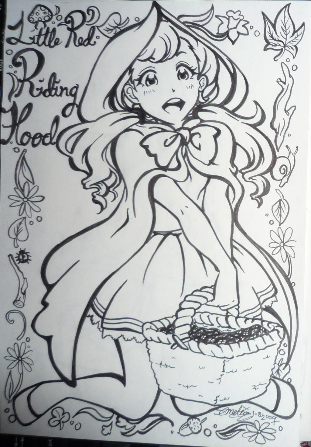 little red riding hood minibook Reading worksheets  tales and stories  little red riding hood  little red riding hood (story mini book) little red riding hood (story mini book) read and complete with the verbs in the past simple tense.
