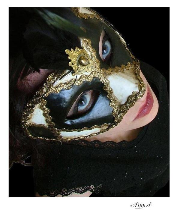 Masquerade by mythfairy