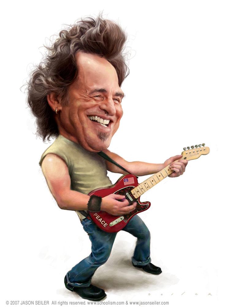 Springsteen by jasonseiler