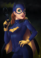 Batgirl PRINT AVAIBLE by fehinprogress