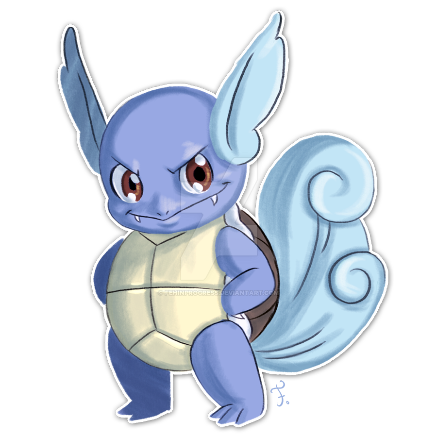 008 Wartortle By Feh Rodrigues On Deviantart