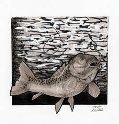 Inktober Day 1 - Fish (new)