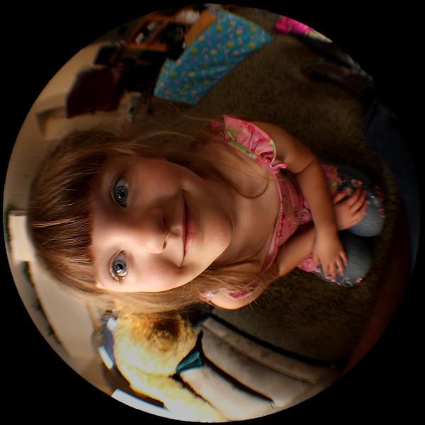 Princess Fisheye by woodythrower