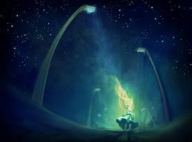 Light Pollution by WayTooEmily