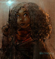 Harry Potter and the Cursed Child: Kid Hermione by WayTooEmily