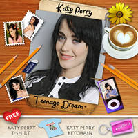 Katy Perry Fan Made CD cover Front