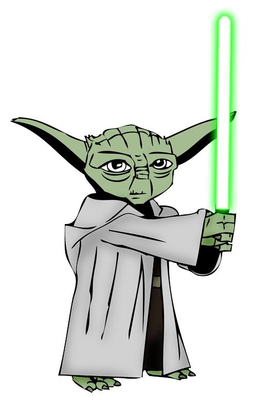 Yoda - Clone Wars - Ink Test by jamesewelch on DeviantArt