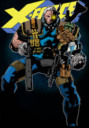 Cable, X-Force issue 4 by jamesewelch