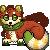 Cinder Pixel by xLuvyna