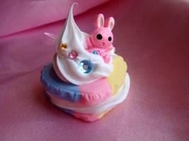 Baby Bunny Macaroon by Lustfulwish