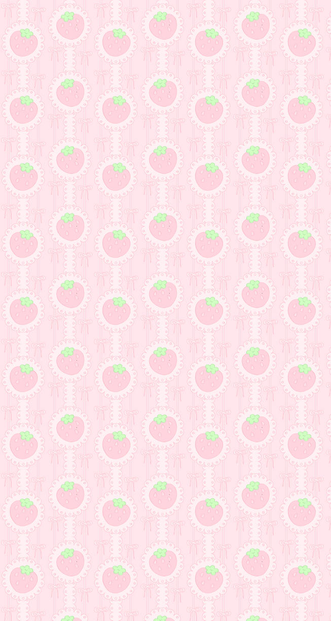 Strawberry Background by Lustfulwish