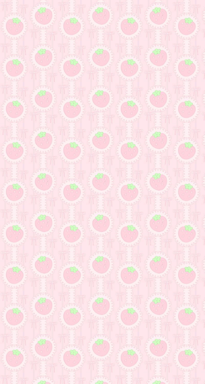 Strawberry Background by Lustfulwish
