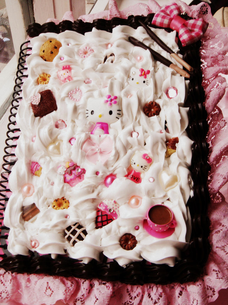 Hello kitty deco notebook by lustfulwish on deviantart - Deco chambre hello kitty ...
