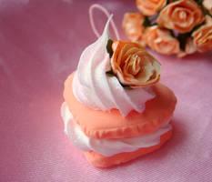 Elegant Peach Macaroon by Lustfulwish