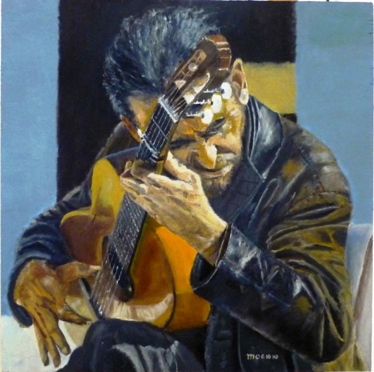 Street Gitarist by Moenn
