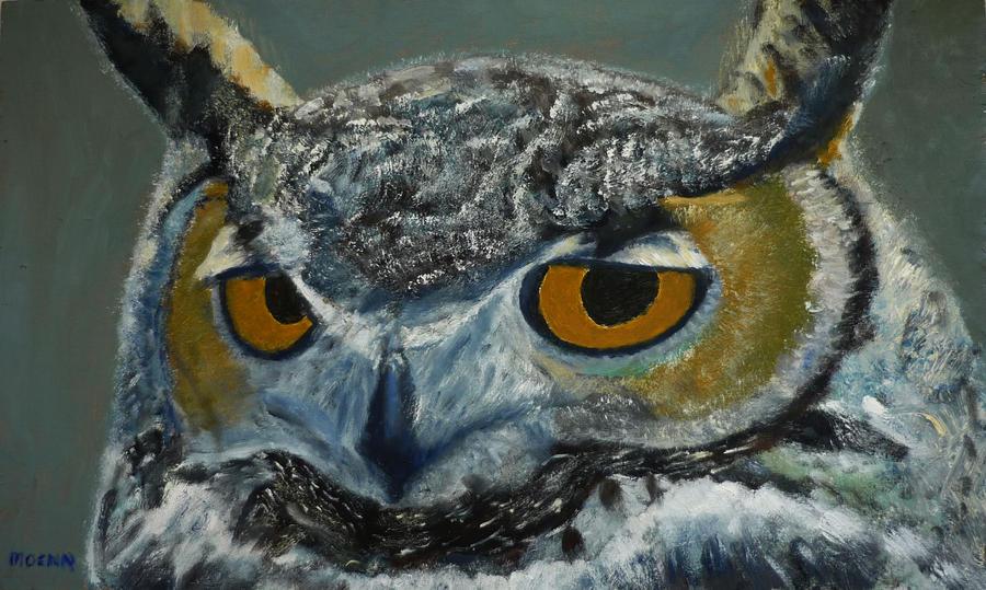 owl head by Moenn