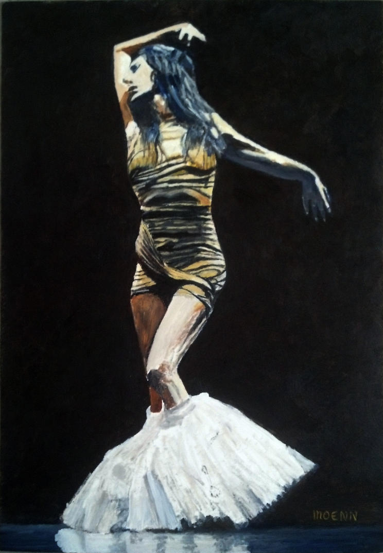la danseuse M-C Pietragalla by Moenn