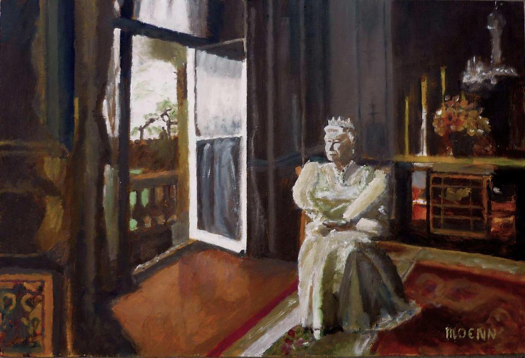 The Queen by Moenn