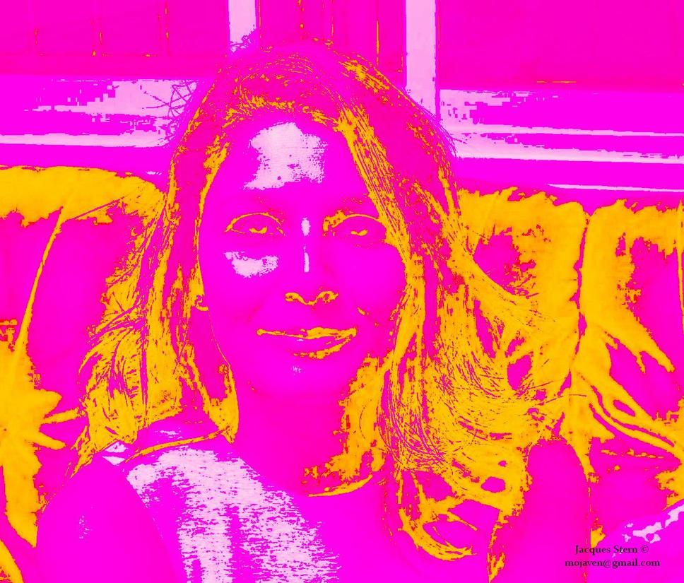 O variation en rose et jaune by Moenn