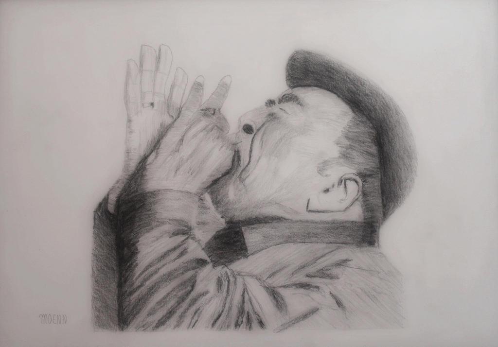 Joueur d'harmonica by Moenn