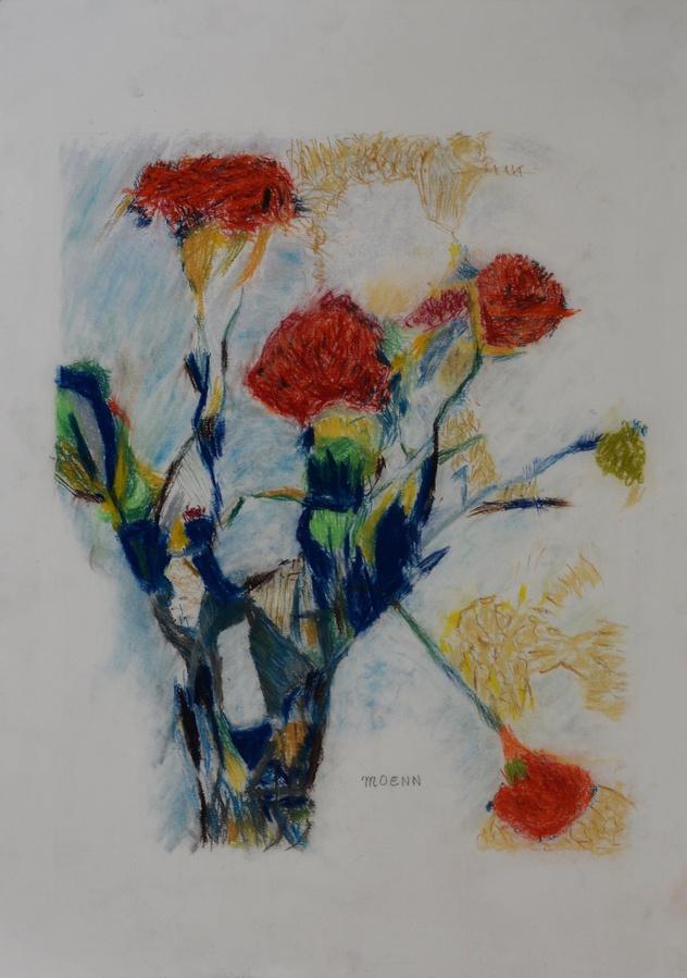 Carnations by Moenn