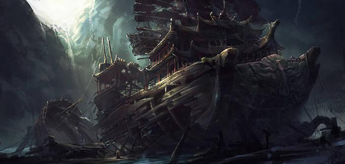 chinese ship