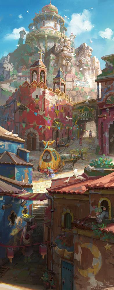 Kingdom-of-dream by arui001