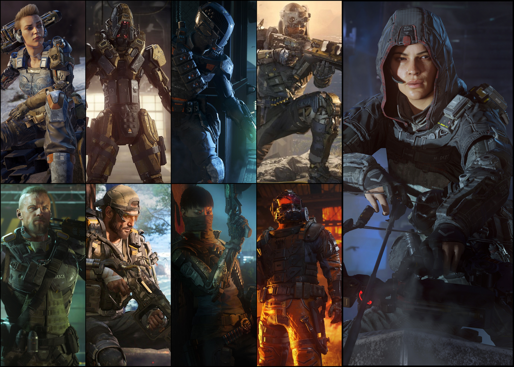 CoD: BO 3 Specialists Choose One And Fight! By
