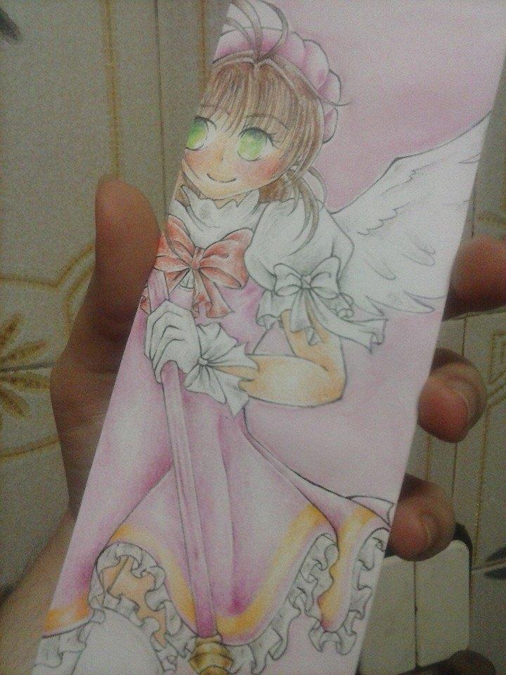 Kinomoto Sakura Bookmark by verinha260