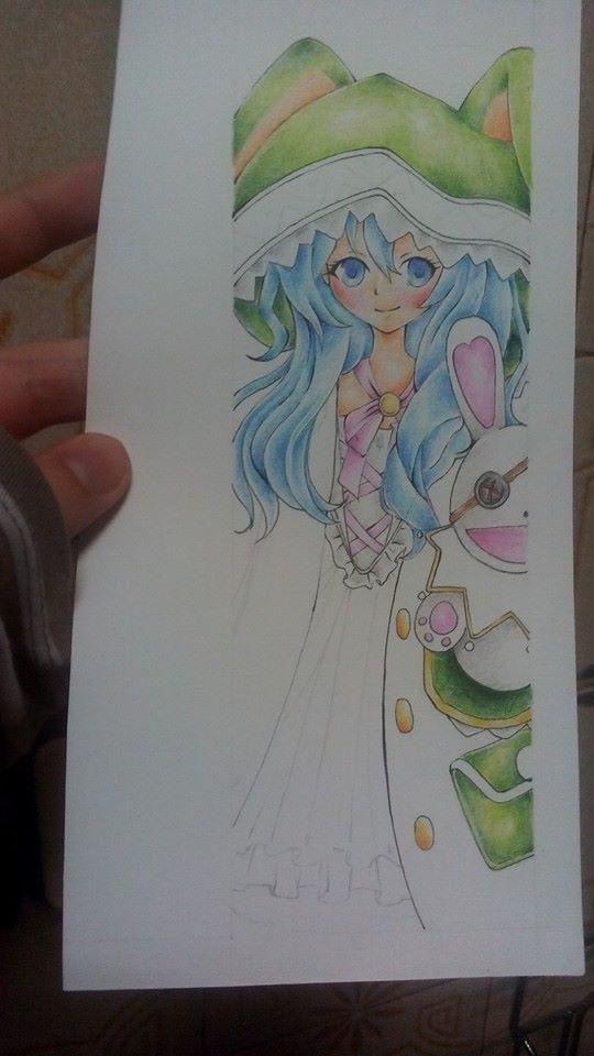 Yoshino Bookmark WIP by verinha260