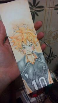 Haikyuu - Hinata Bookmark