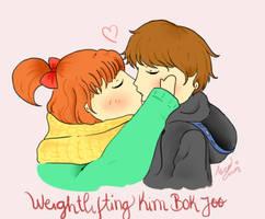 Weightlifting fairy kim Bok joo fanart