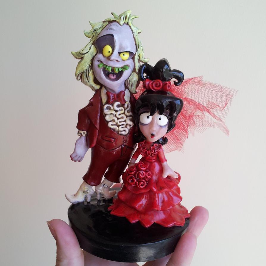 Love Is Cartoon Cake Topper