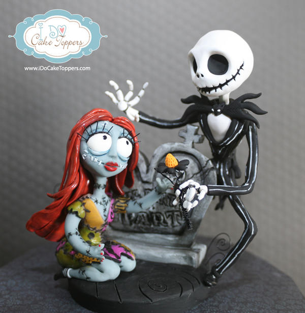 Nightmare before christmas cake topper by christina patterson on