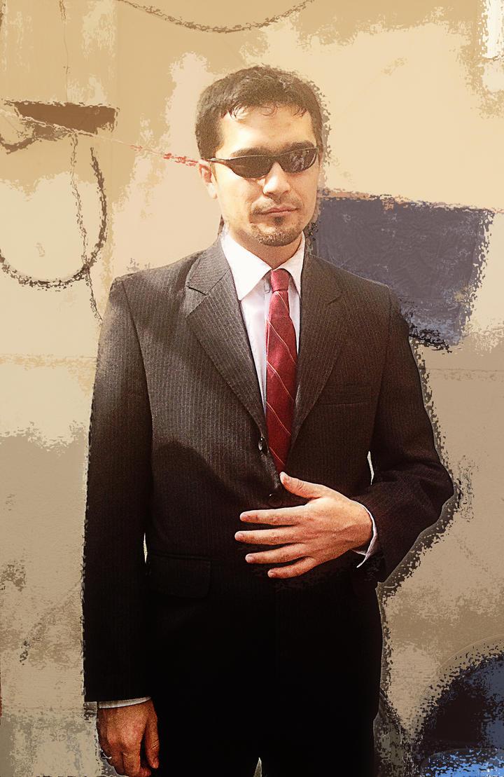 Portrait Hossein alavi by msnsam