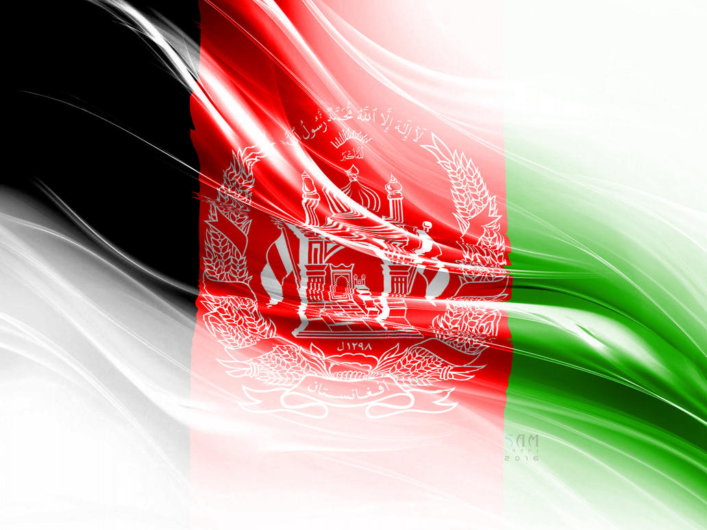 Afghanistan Flag by msnsam