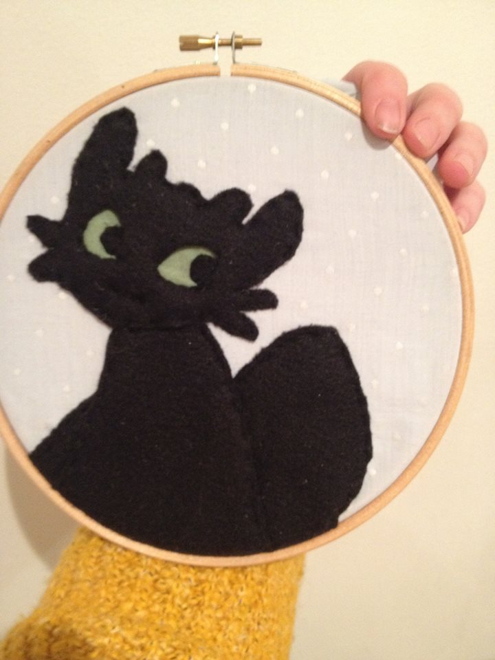Toothless by FiaFreckles