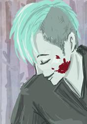 commission example: Punk samurai