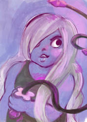 Amethyst speed painting