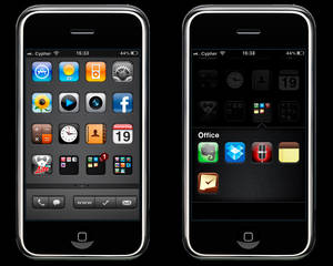 inSET - iPhone Theme WIP