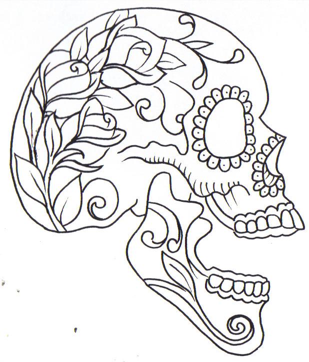 SugarSkull By Curtiscflush On DeviantArt