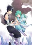 Yu Yu Hakusho - Hiei and Yukina