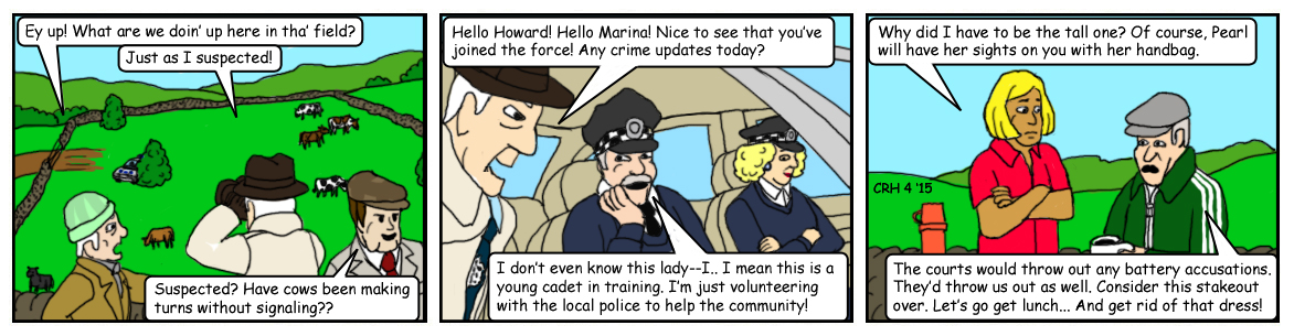 Summer Wine Comic 72 by MST3Claye
