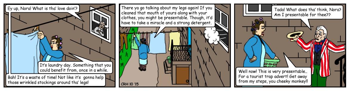 Summer Wine Comic 78 by MST3Claye